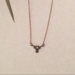 💕💕Cameron Rose Bullhead Necklace